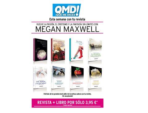 libros megan maxwell que me dices
