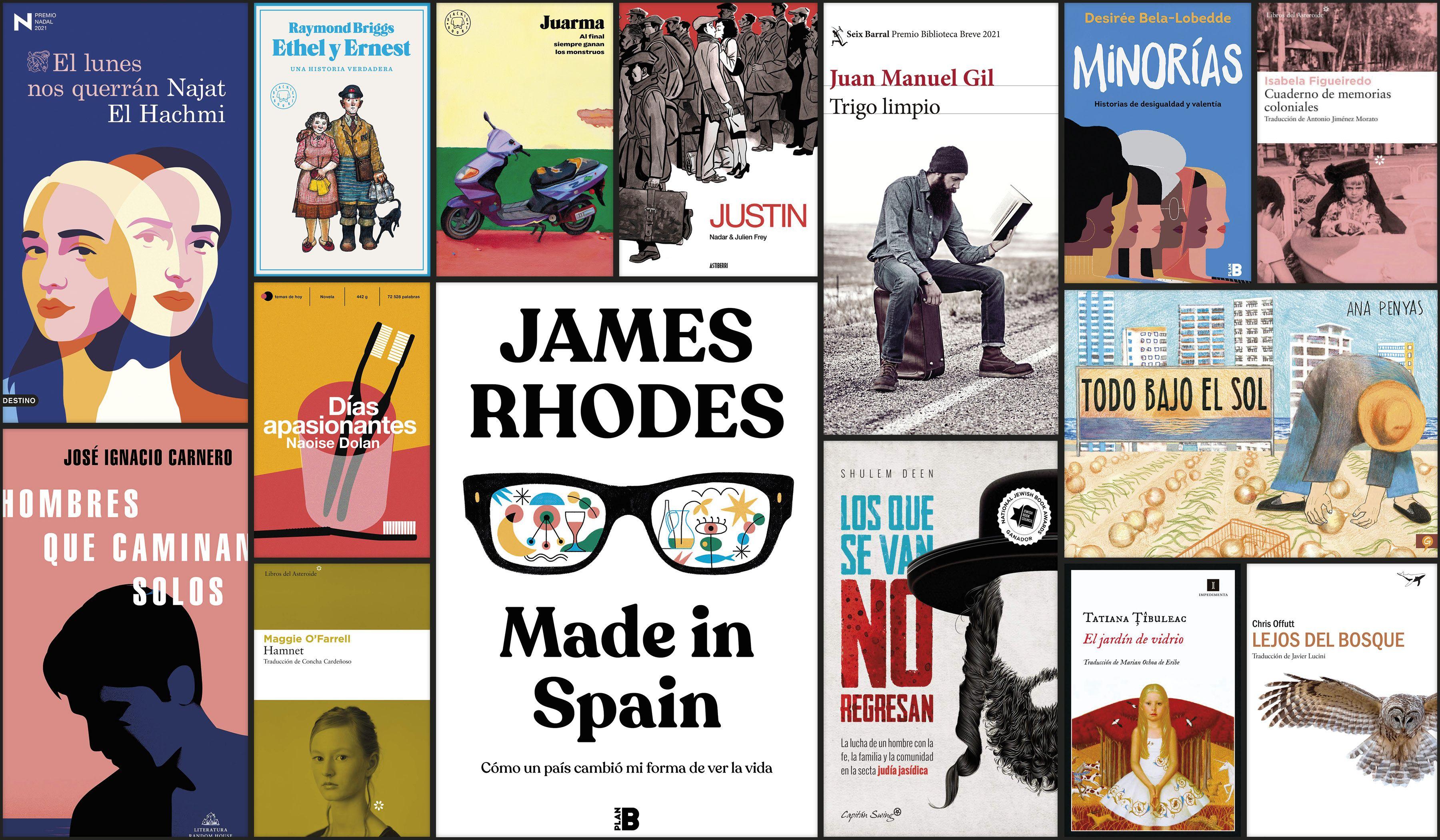 Los mejores libros de 2021 para regalar en el Día del Libro