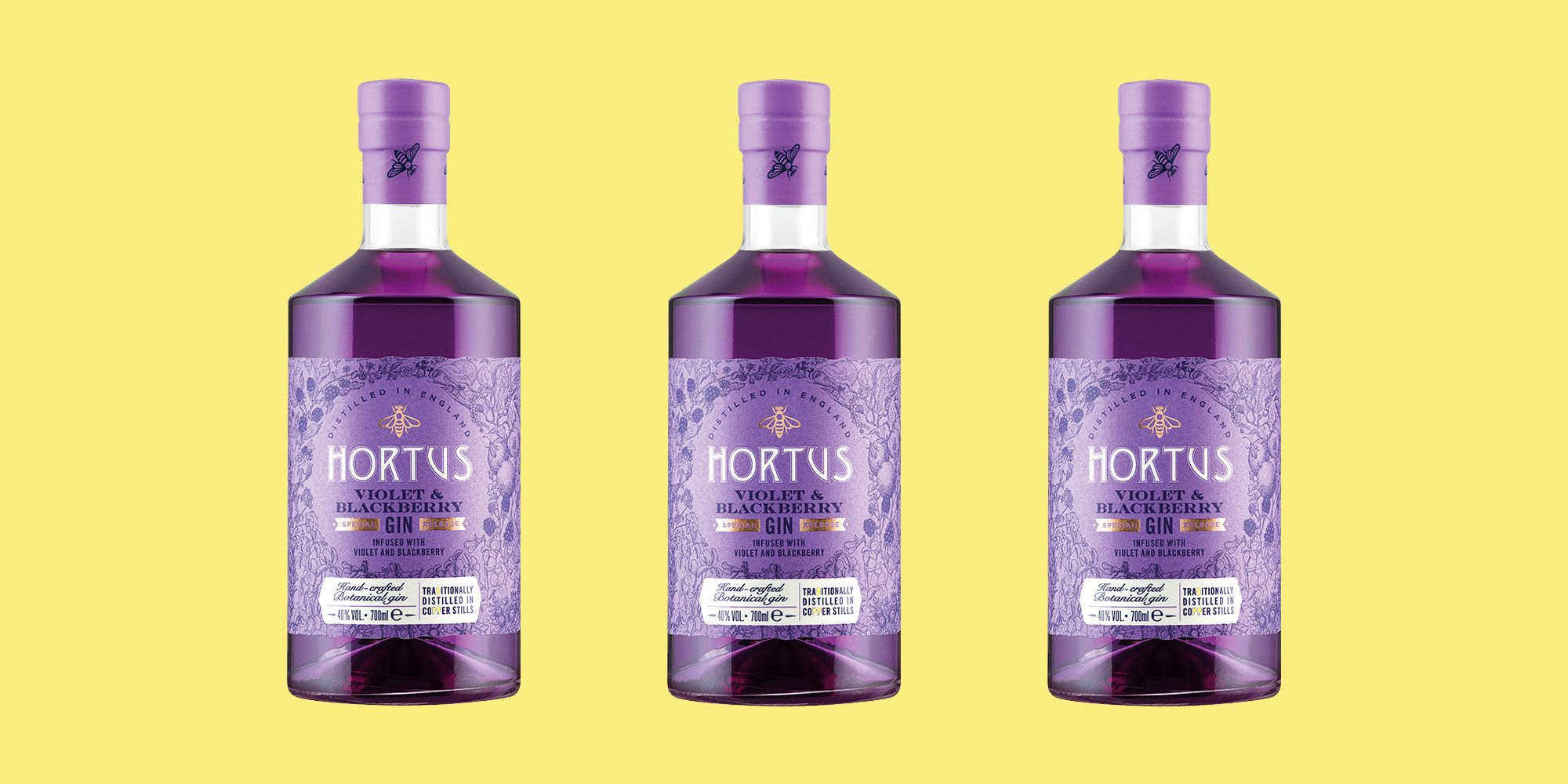 Lidl Has Launched A Brand New Blackberry And Violet Gin Flavour, And You Bet We're Already Making G&Ts