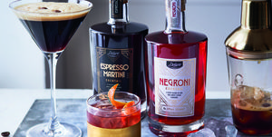Lidl pre-mixed Espresso Martini and Negroni cocktail