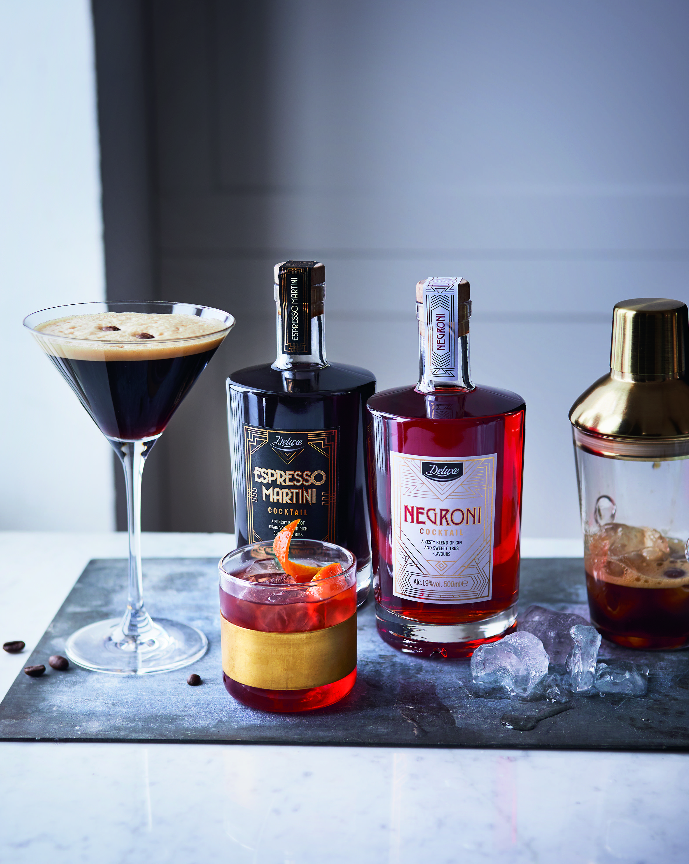 Lidl is launching bottles of pre-mixed Negroni and Espresso Martini cocktails