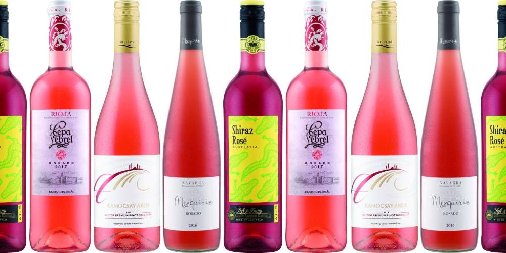 Lidl have released six new bottles of rosé wine