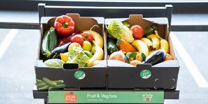 Lidl veg box