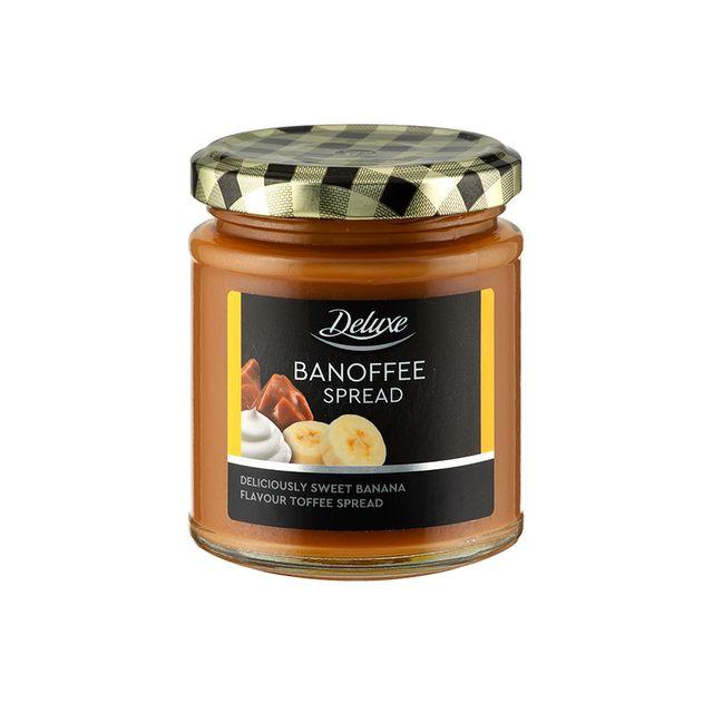 lidl chocolate orange spread, banoffee spread, salted caramel spread