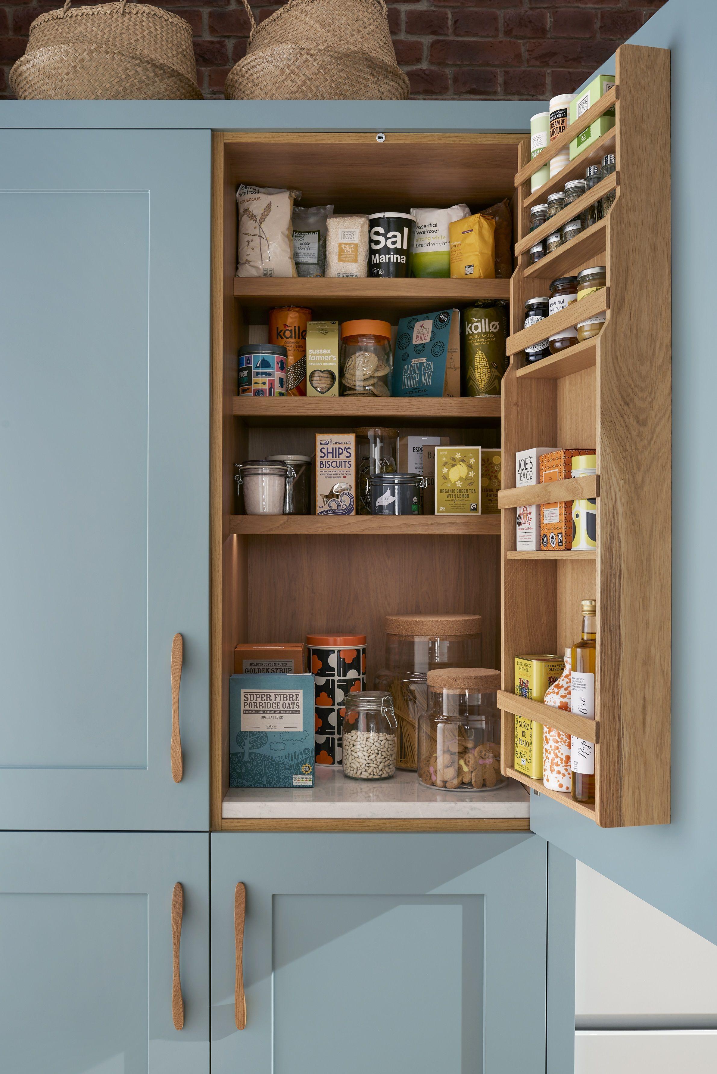 Inspiration Cuisine En U 12 pantry ideas - larder cupboard ideas for every kitchen