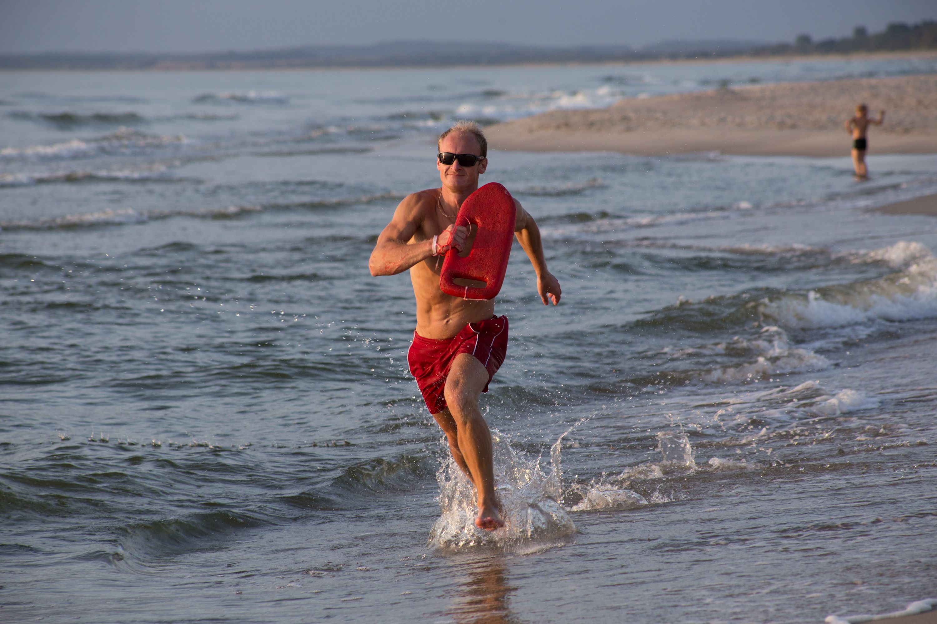 How Some of the Fittest Lifeguards in the Country Train