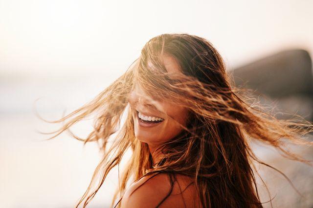 hair tips salt water damage