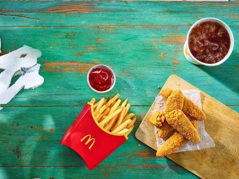 mcdonald's vegan meal