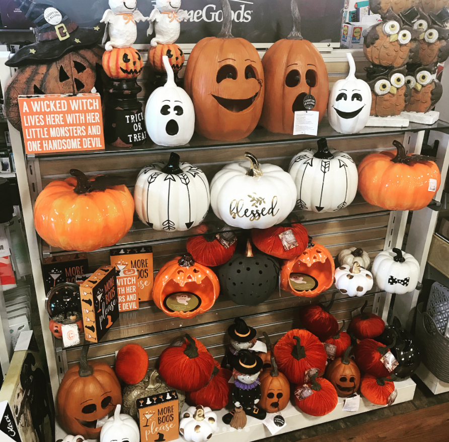 HomeGoods Fall Decorations 2018