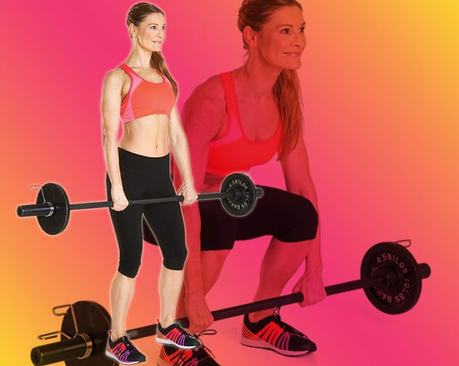 5 Weight-Lifting Moves That'll Help You Drop a Size (Or More)