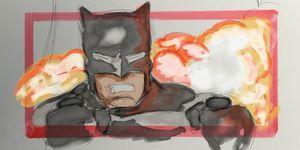 liga justicia zack snyder arte inédito imágenes batman