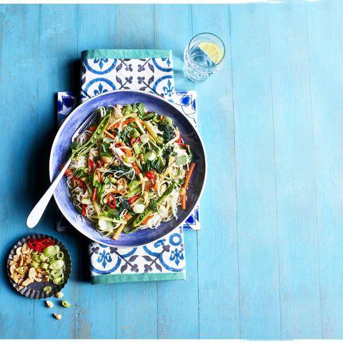 light asian chicken salad