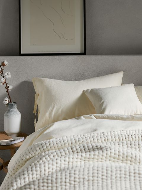 stylish lightfilled bedroom