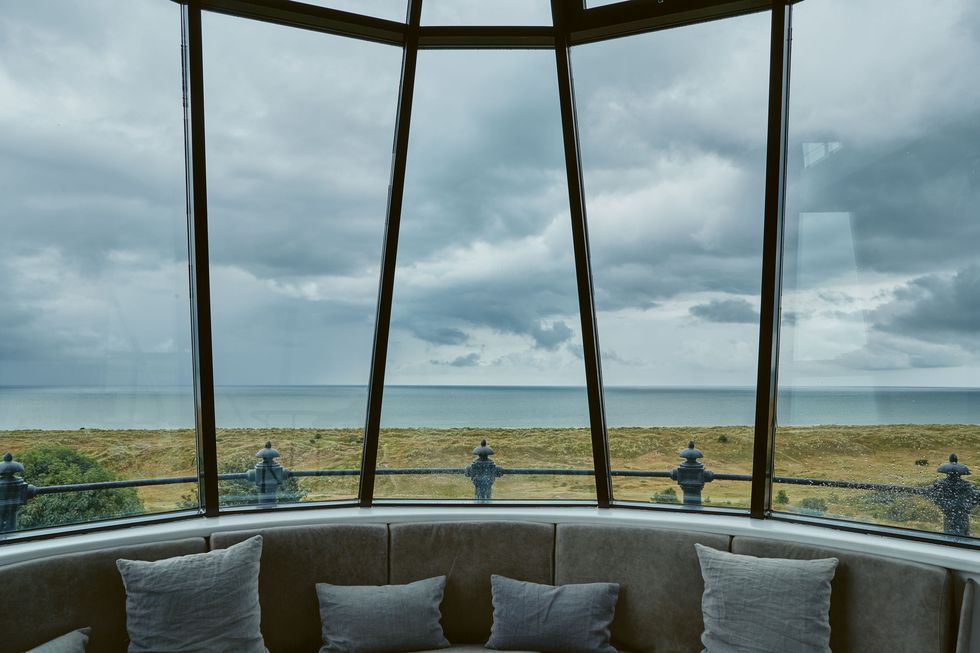 Winterton Lighthouse holiday homes ocean views