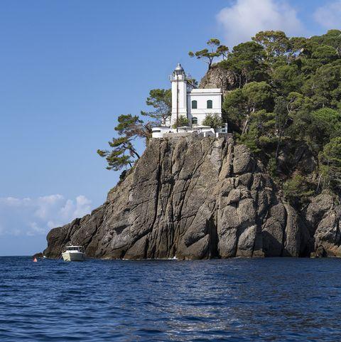 Lighthouse, Portofino, Liguria, Italy