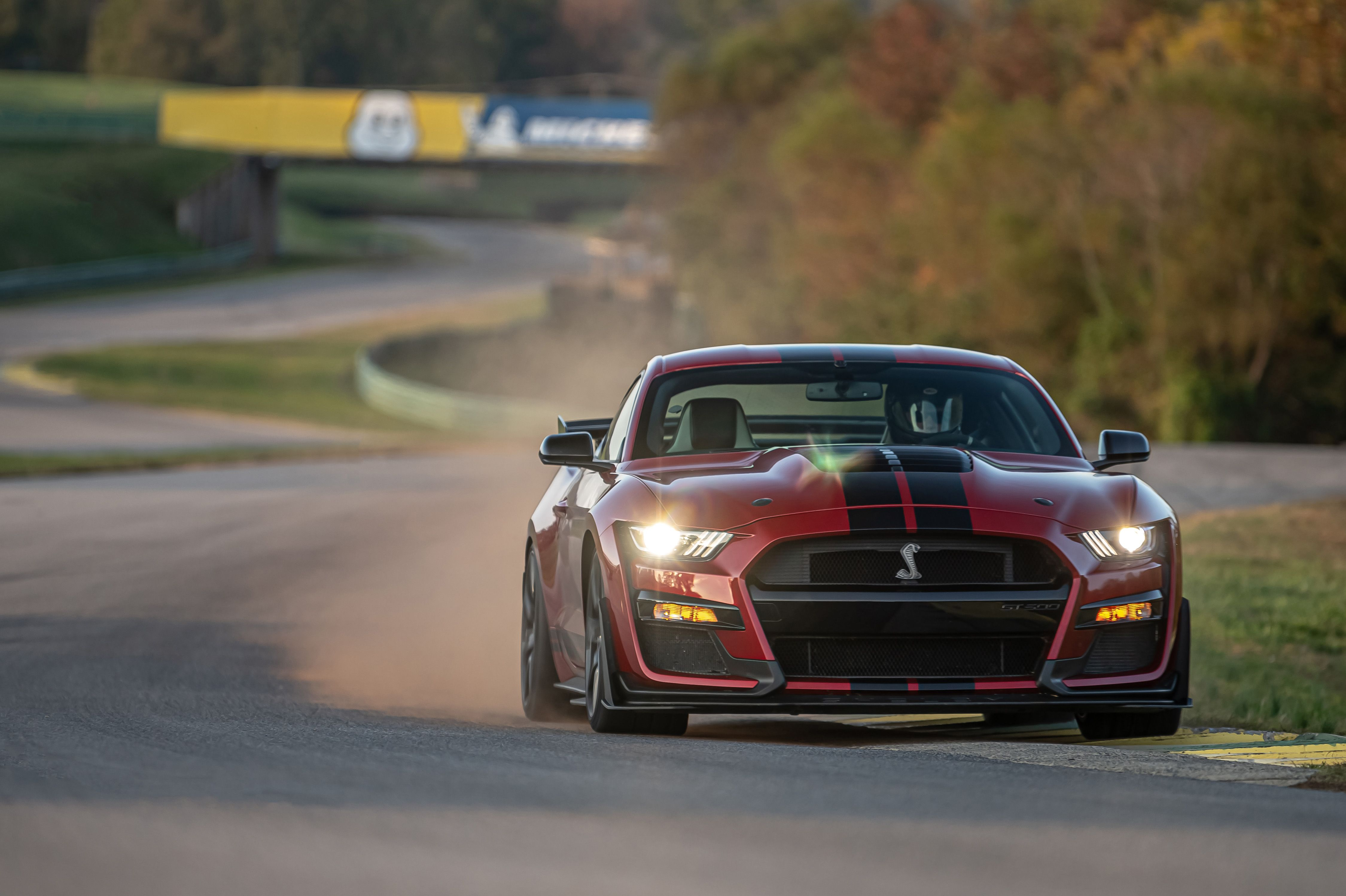 2020 Ford Mustang Shelby GT500 at Lightning Lap 2021