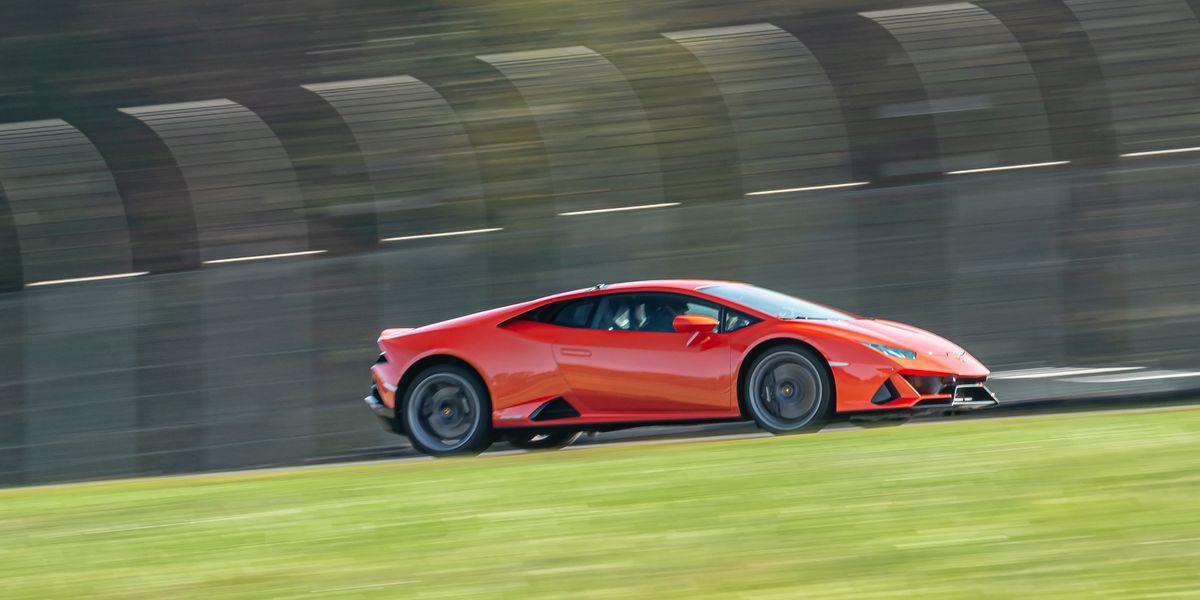 2020 Lamborghini Huracán Evo at Lightning Lap 2021