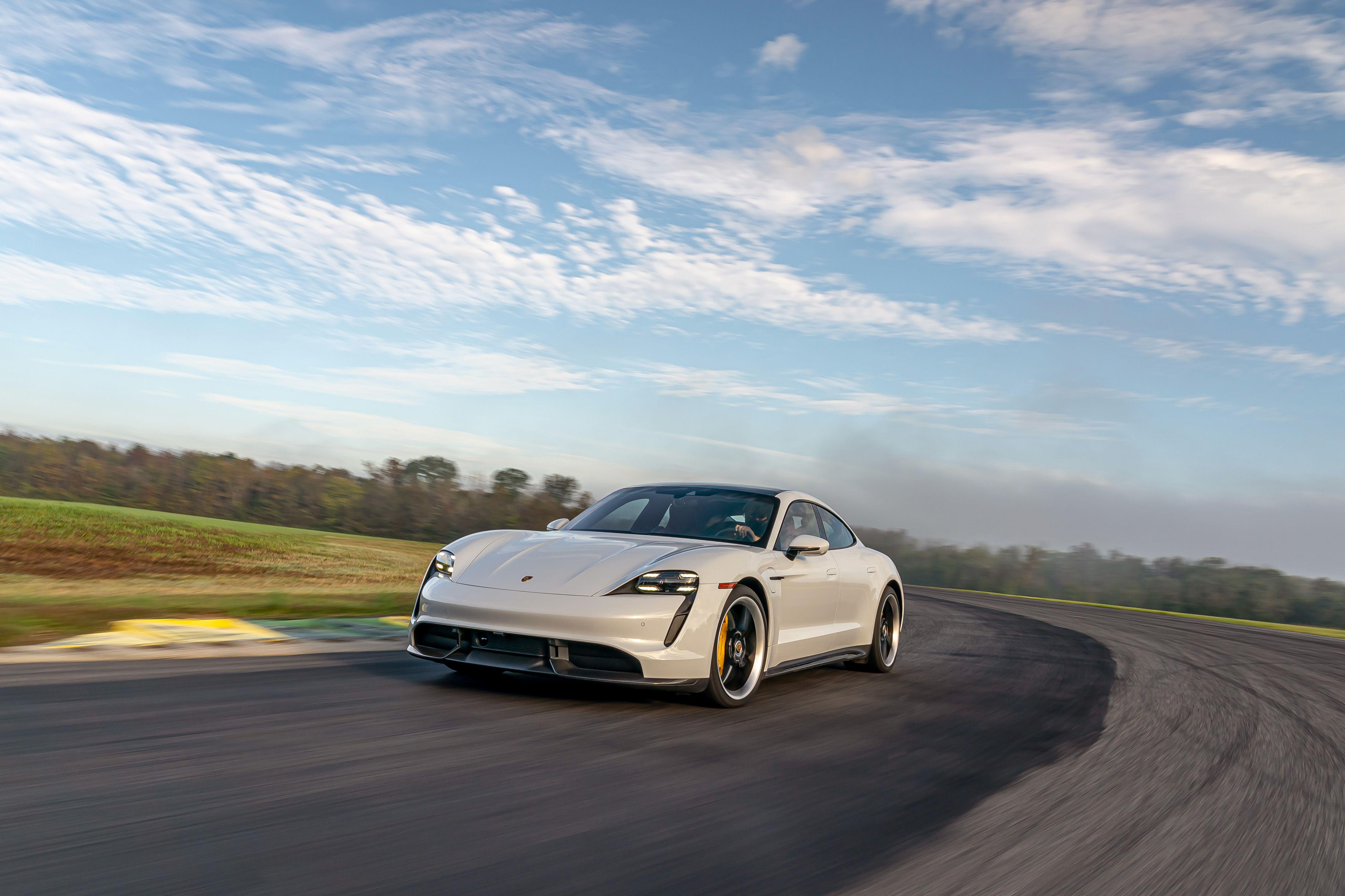 2020 Porsche Taycan Turbo S At Lightning Lap 2021