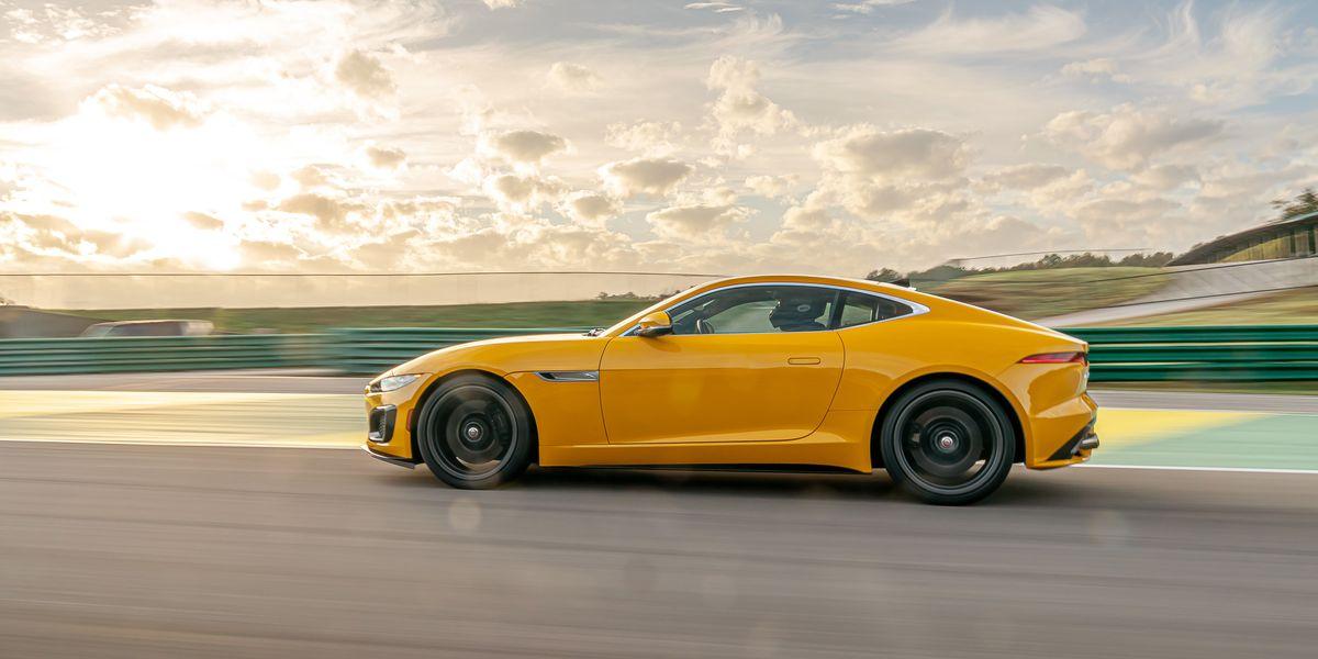 2021 Jaguar F-Type R at Lightning Lap 2021