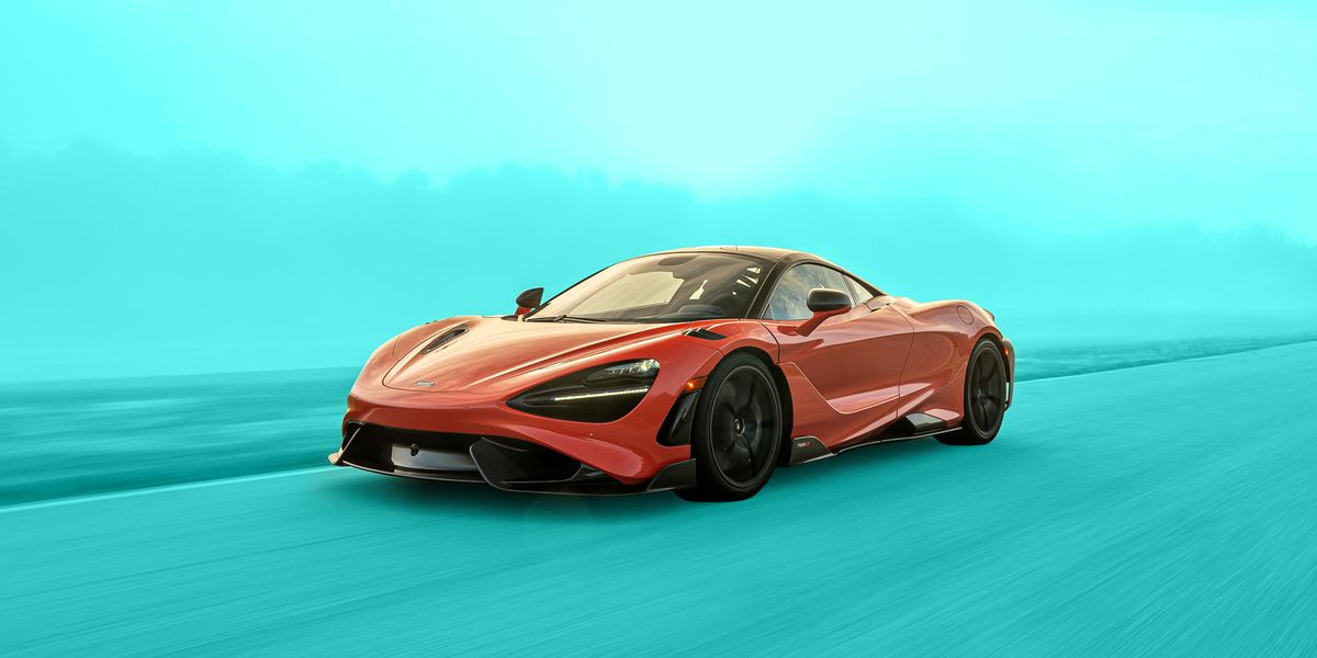 2021 McLaren 765LT at Lightning Lap 2021