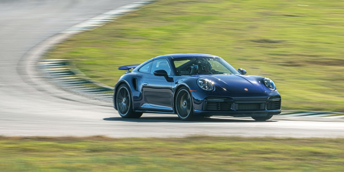 2021 Porsche 911 Turbo S at Lightning Lap 2021