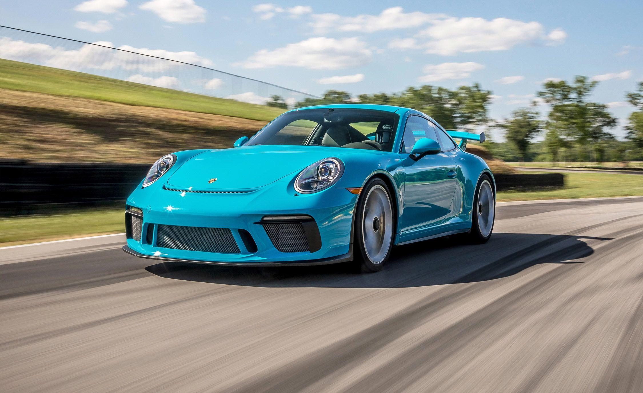 2018 Porsche 911 Gt3 Lightning Lap Results For 2018