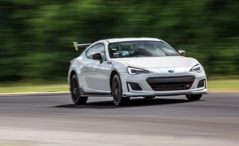 2018 Subaru Brz Ts At Lightning Lap