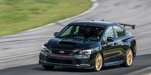 2018 Subaru WRX STI Type RA at VIR