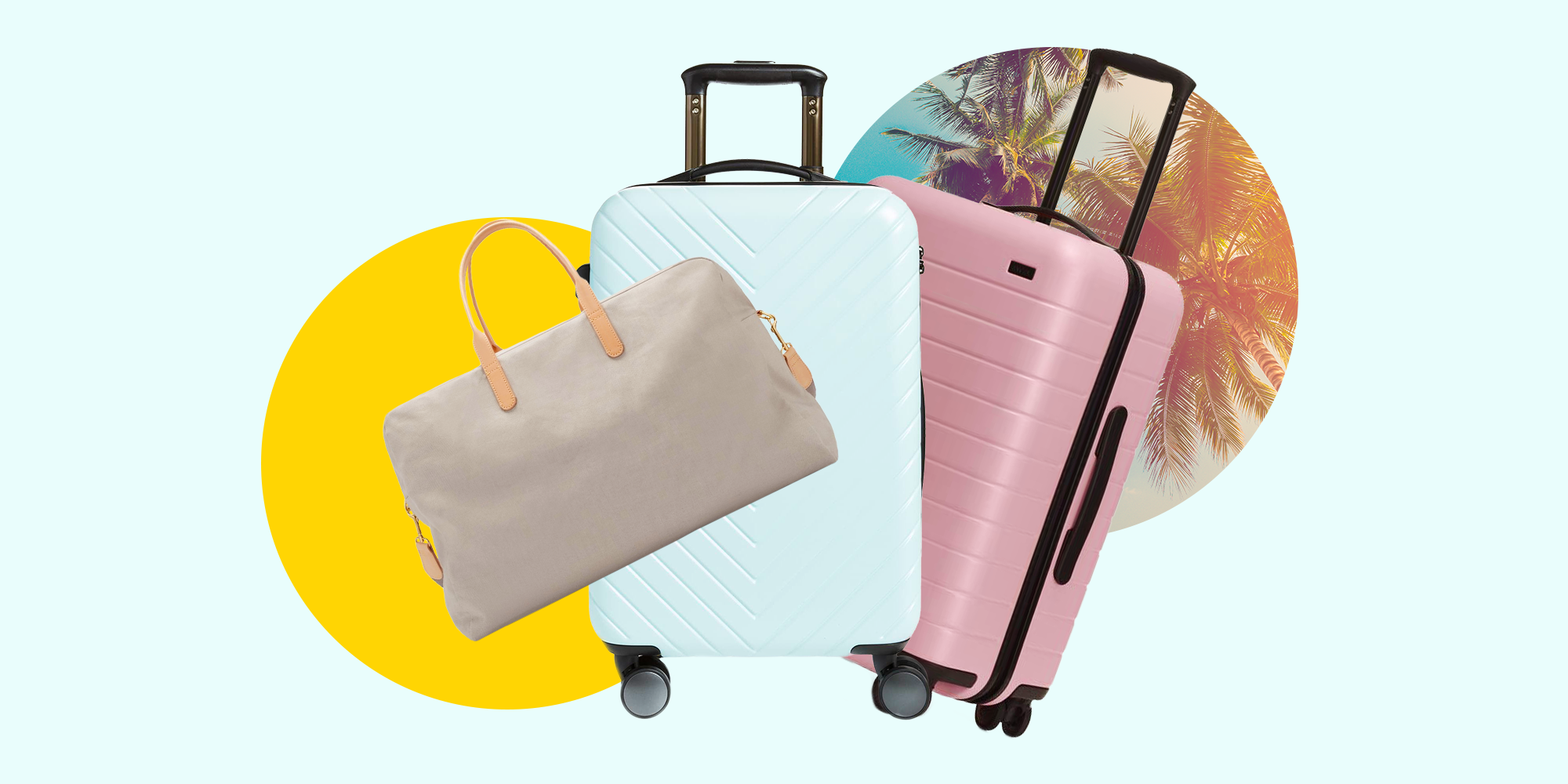 24c677965 15 Lightweight Suitcases - These Pieces of Luggage Are so Light