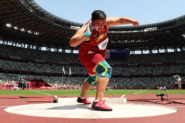 lijiao gong, lanzamiento de peso, juegos olimpicos de tokio