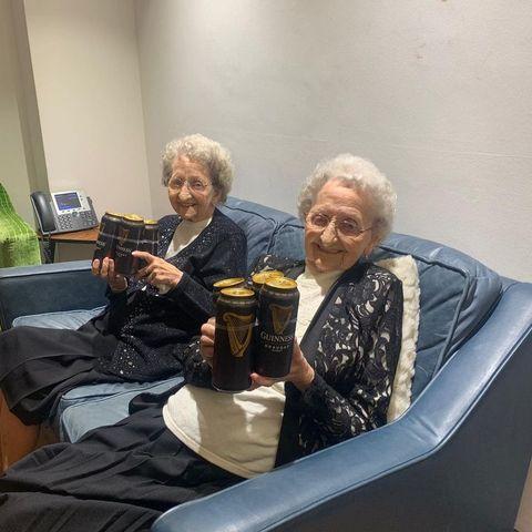 Event, Sitting, Drink, Grandparent,