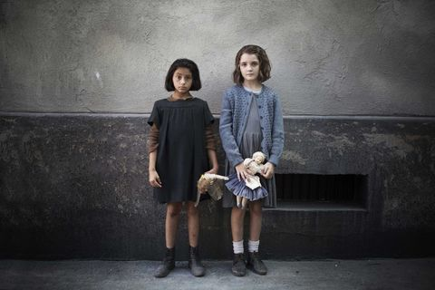 Lila and Lenu in Elena Ferrante's My Brilliant Friend