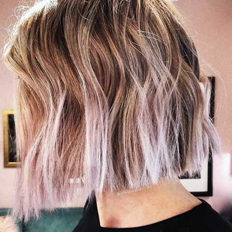 Vanilla Lilac Hair Is The Fall Shade You Ll Actually Love