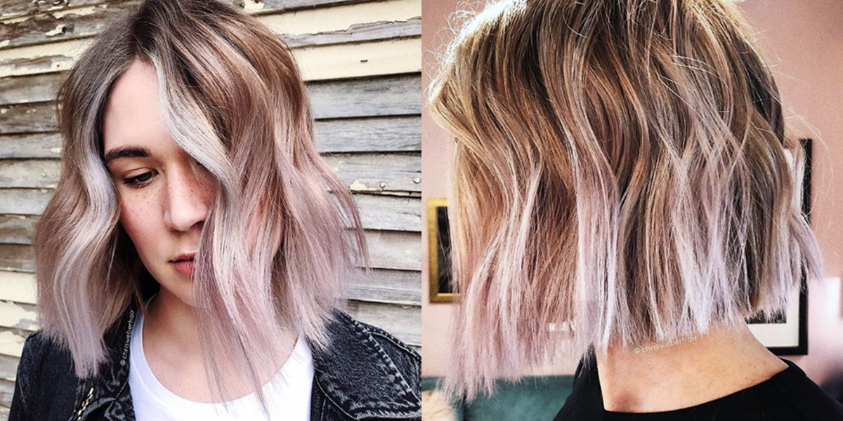 Vanilla Lilac Hair Is The Fall Shade You Ll Actually Love