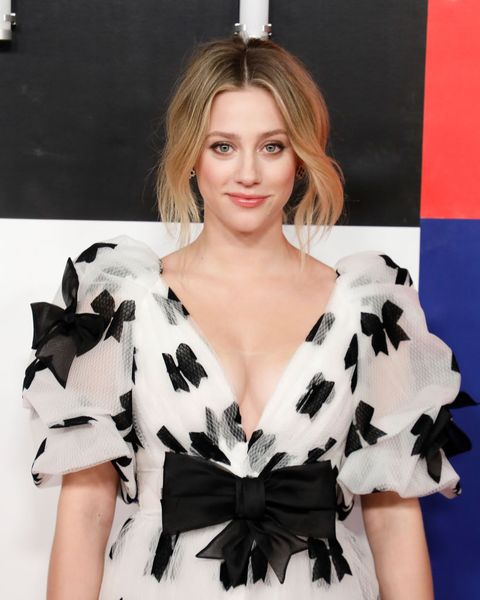 new york, new york   november 14 lili reinhart attends time 100 next at pier 17 on november 14, 2019 in new york city photo by taylor hillfilmmagic