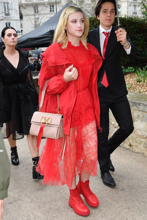 Valentino : Outside Arrivals - Paris Fashion Week Womenswear Fall/Winter 2019/2020