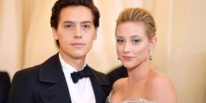 Cole Sprouse Lili Reinhart Met Gala