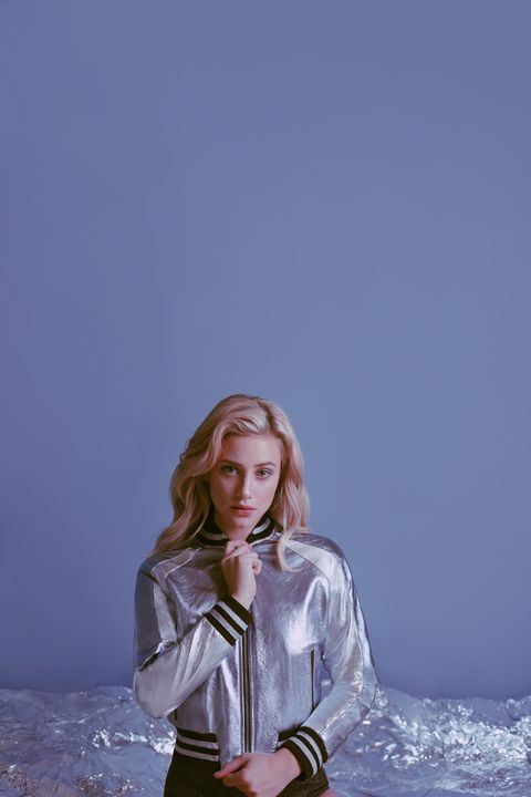 2c36691b770fe Lili Reinhart Turns 3 Classic Jackets Into the Ultimate Breakup ...