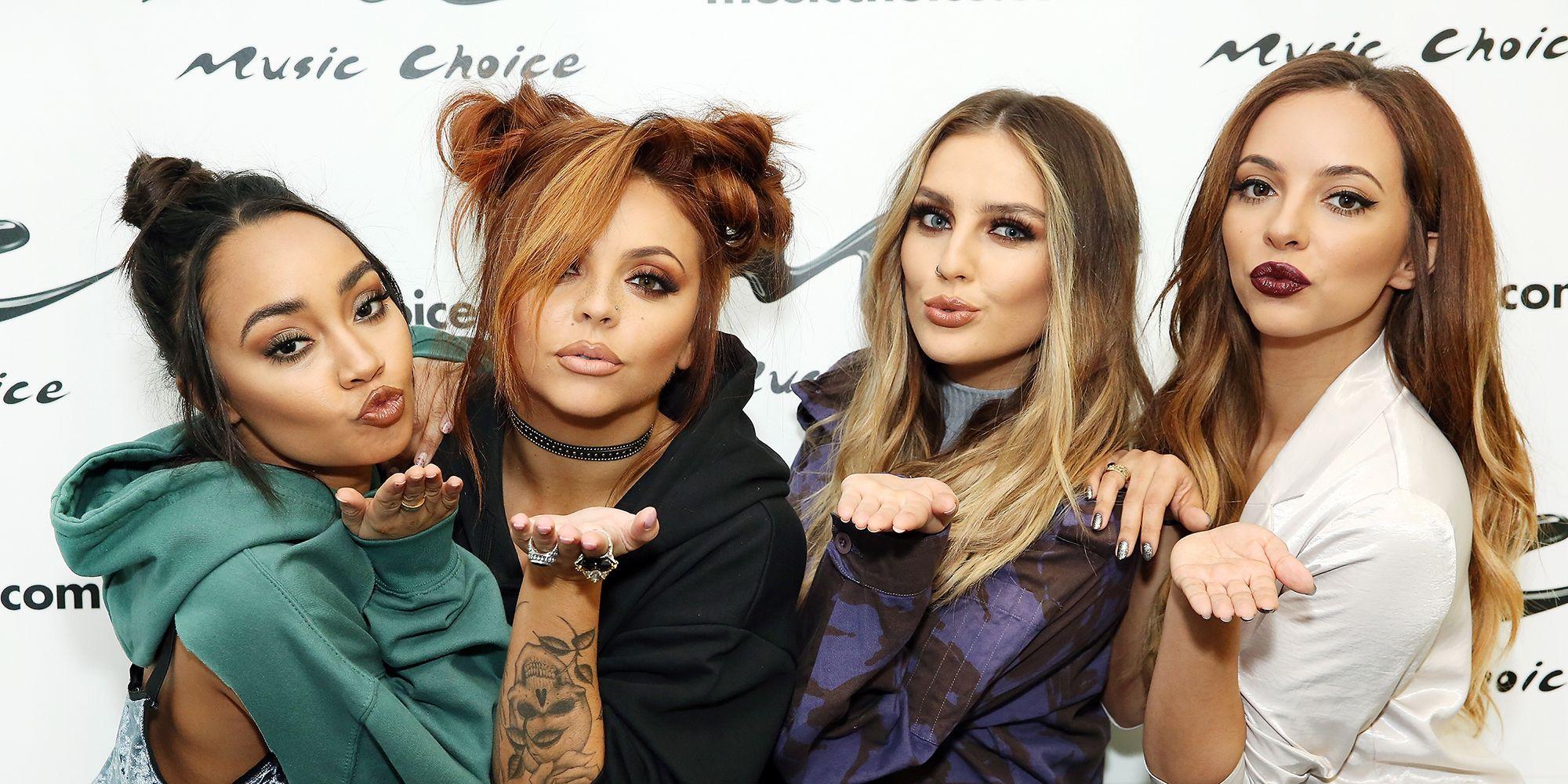 Little Mix Visits Music Choice
