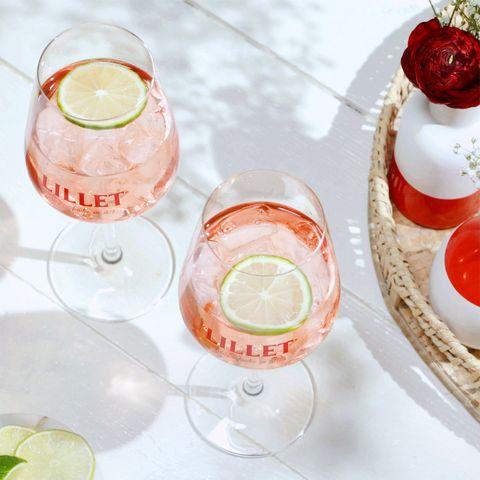 Lillet Rosé Spritz