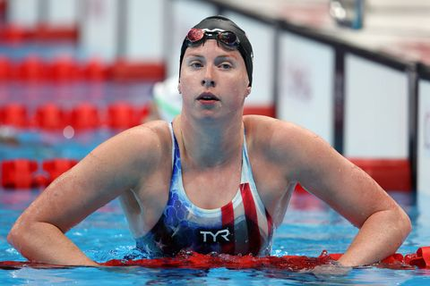swimming olympics day 3