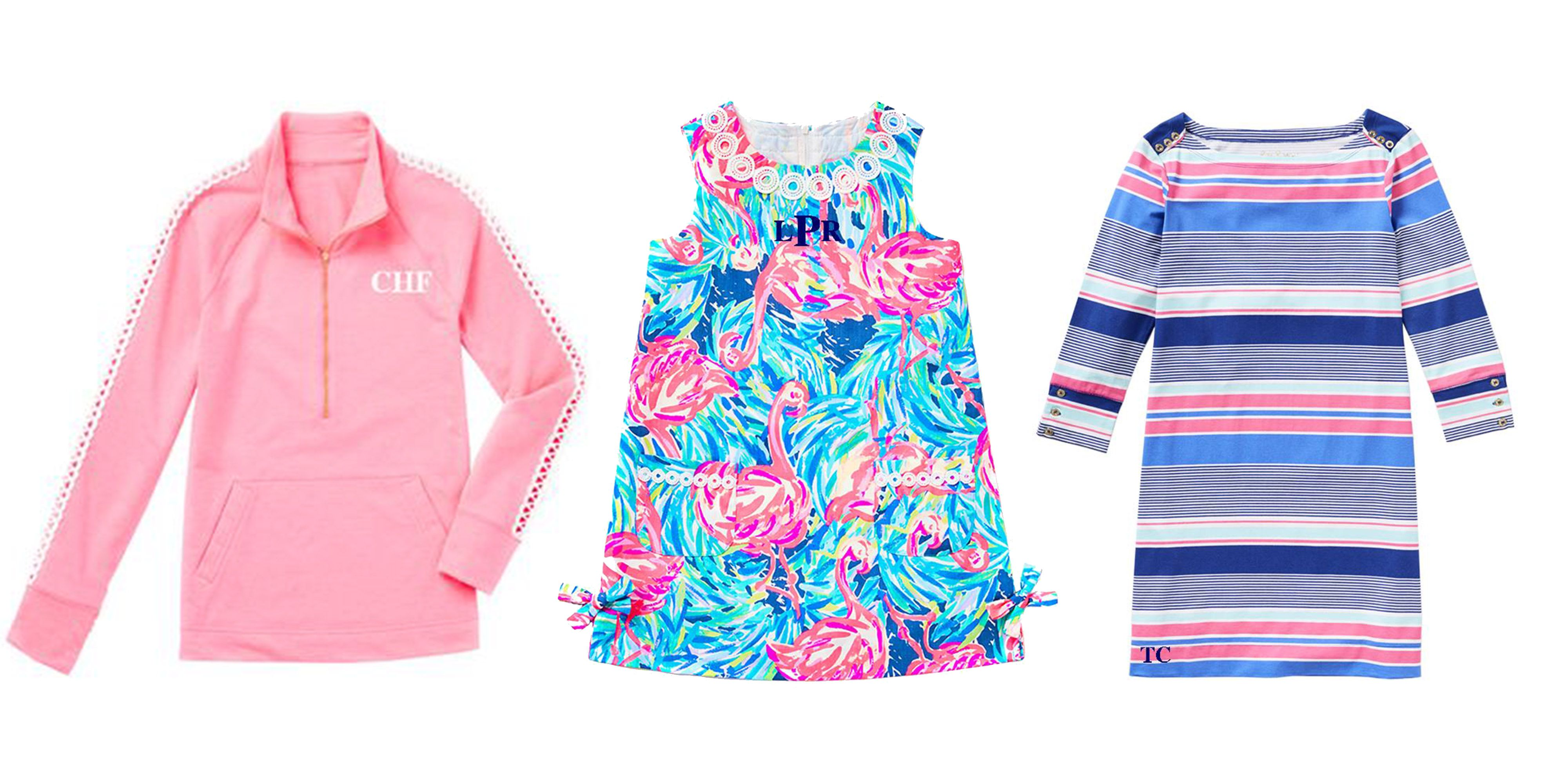 Lilly Pulitzer Introduces Monogramming