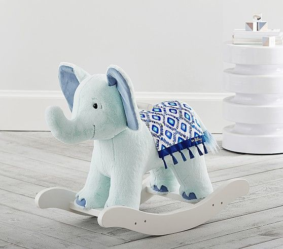 Elephant Nursery Rocker