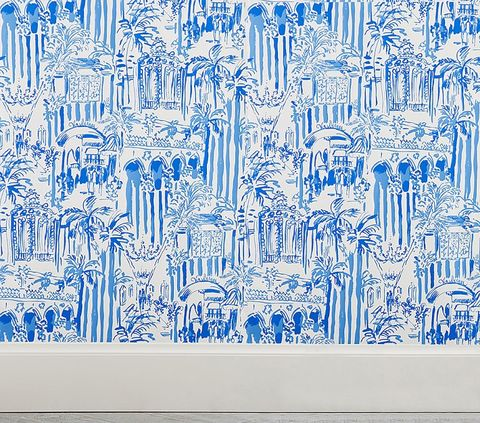 The Lilly Pulitzer X Pottery Barn Collaboration Is Finally