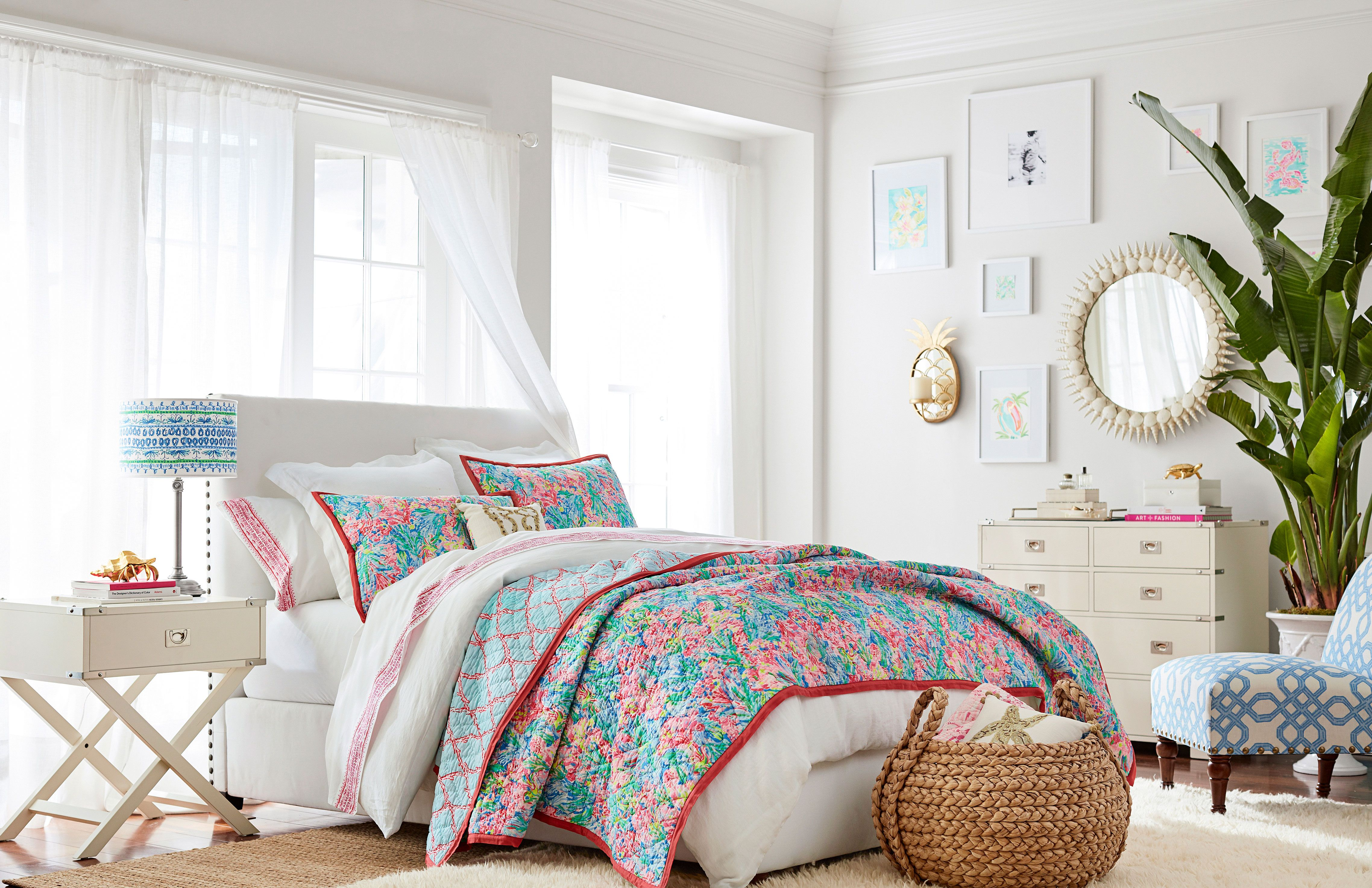 The Lilly Pulitzer X Pottery Barn Collaboration Is Finally Here
