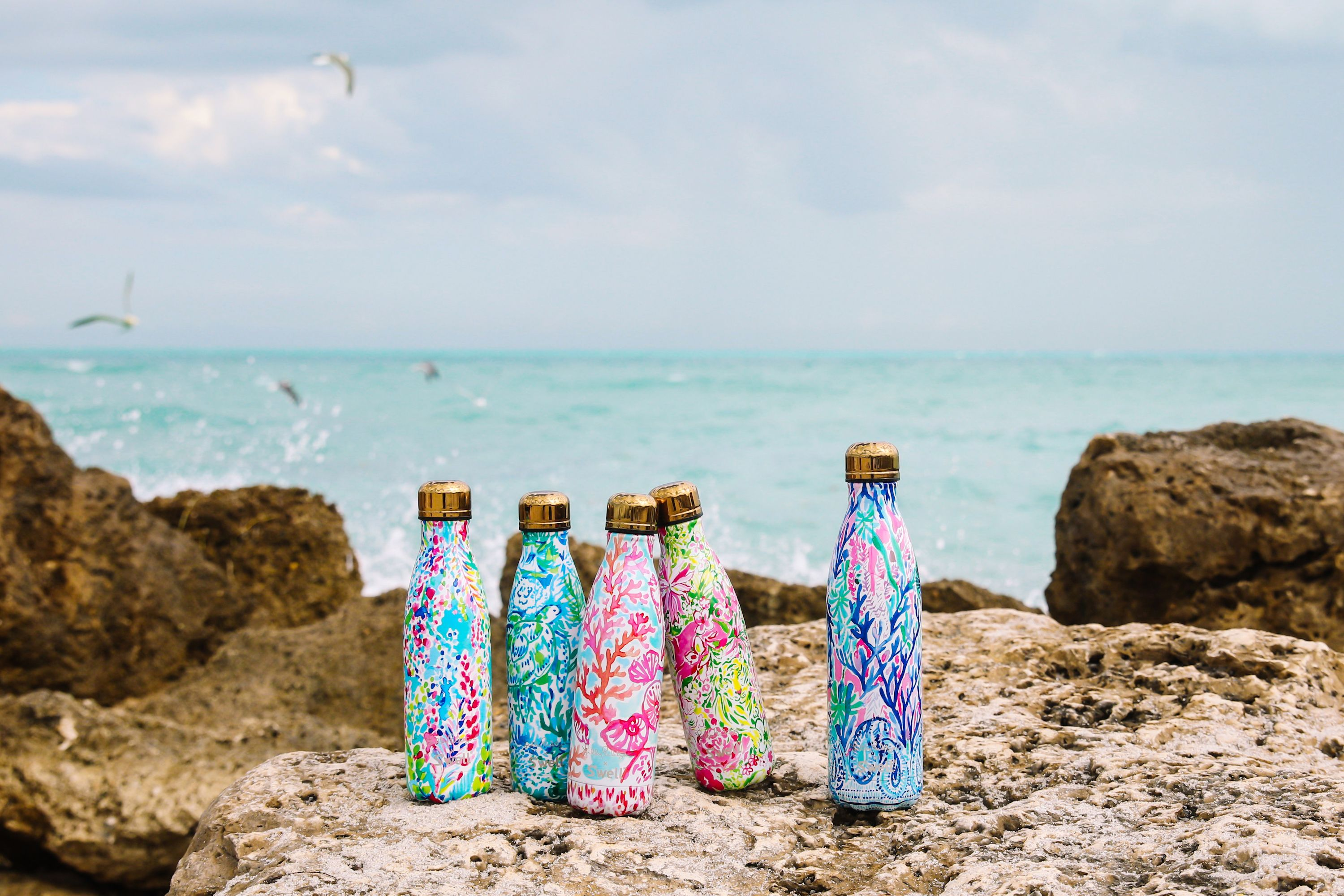 11a60e52e1 Lilly Pulitzer Just Launched a Limited Edition Collection of S'Well Water  Bottles