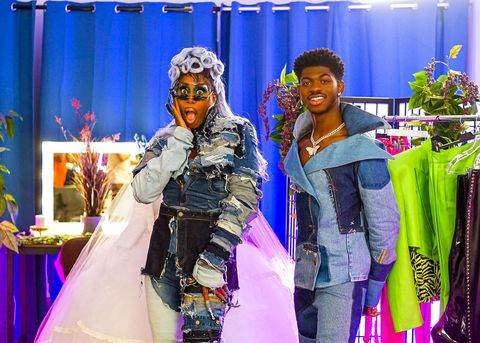 monique heart and lil nas x