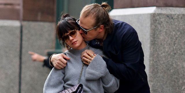 Lily Allen and David Harbour (A.K.A. Hopper from 'Stranger Things') Spotted Kissing In NYC