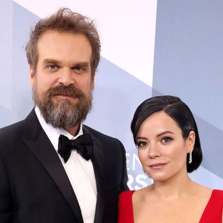are lily allen and david harbour engaged