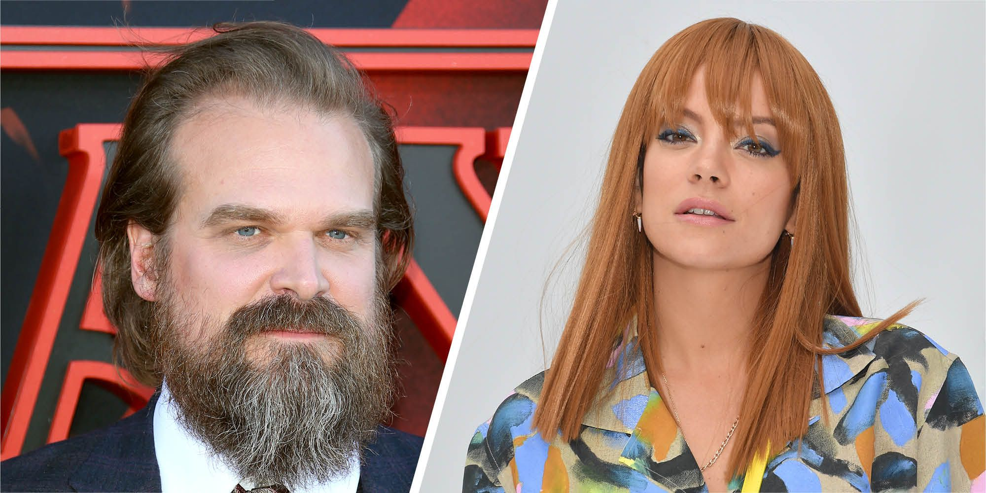 Lily Allen and Stranger Things' David Harbour have been hanging out together